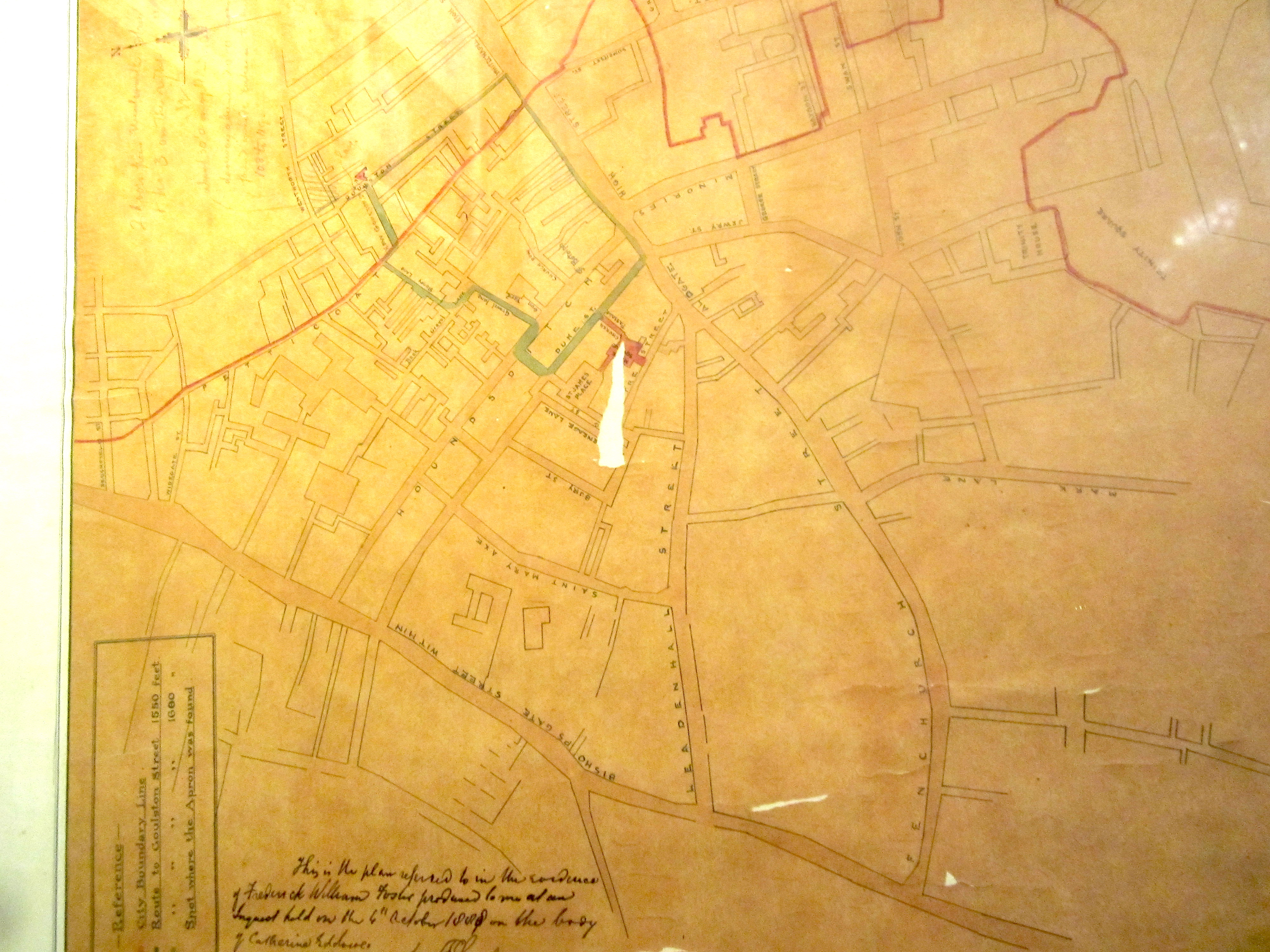 whitechapel1888map