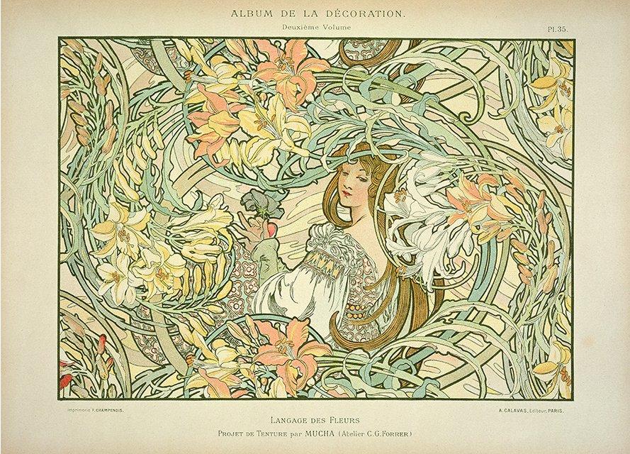 language_of_flowers_by_alphonse_mucha