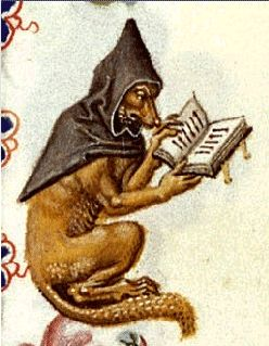 wolf as monk