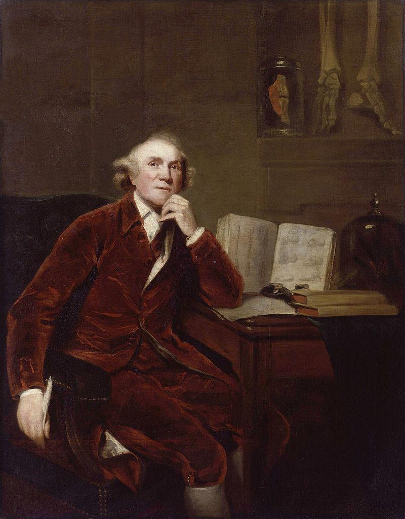 John Hunter by John Jackson (after Sir Joshua Reynolds) 1813