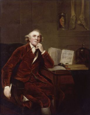John Hunter by John Jackson (after Sir Joshua Reynolds) 1813