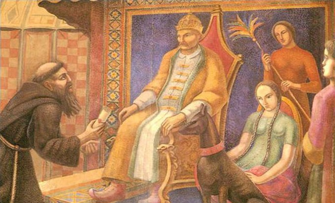 Giovanni da Pian del Carpine and Guyuk Khan