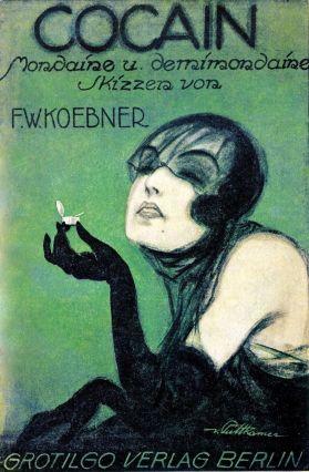 Anita Berber Cocaine by F.W. Koebner