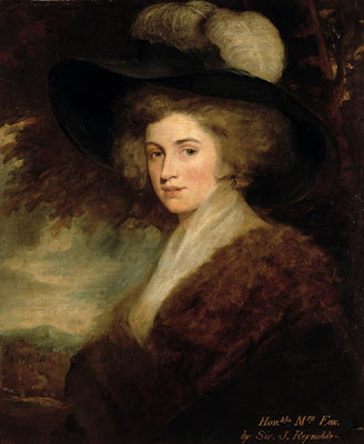 honorable mrs fox by joshua reynolds